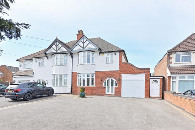 Thumbnail Semi-detached house for sale in Chester Road North, Sutton Coldfield