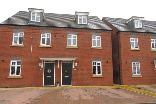Thumbnail Semi-detached house for sale in Harris Close, Redditch