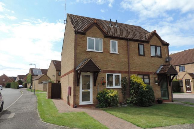 2 bed semi-detached house to rent in Beck Way, Thurlby, Bourne, Lincolnshire