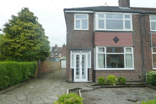 Thumbnail Semi-detached house to rent in Hawthorn Avenue, Timperley