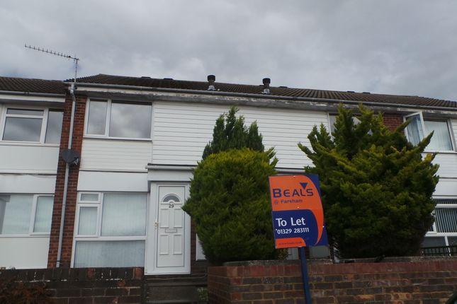Thumbnail Flat to rent in Weyhill Close, Fareham