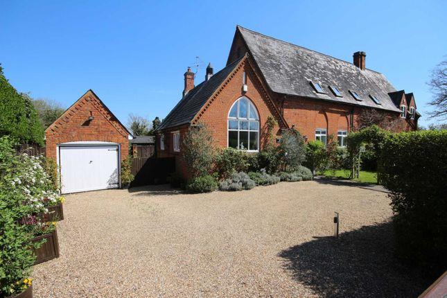 Thumbnail Semi-detached house for sale in Church Lane, Binfield, Bracknell