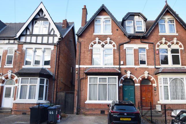 Thumbnail Semi-detached house for sale in Devonshire Road, Handsworth Wood, Birmingham