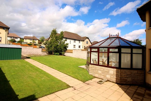 Garden of Castlewood Avenue, Dundee DD4