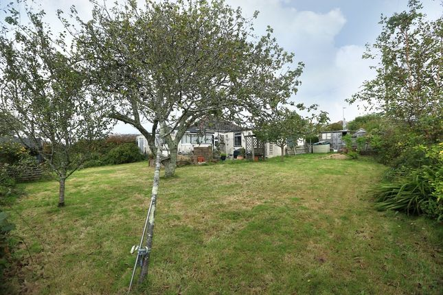 Thumbnail Detached bungalow for sale in Cross Park Road, Wembury, Plymouth