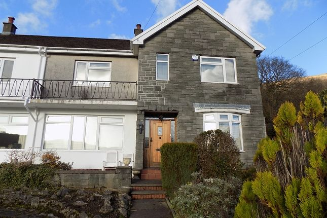 Thumbnail Semi-detached house for sale in Cadwgan Road, Treorchy, Rhondda, Cynon, Taff.