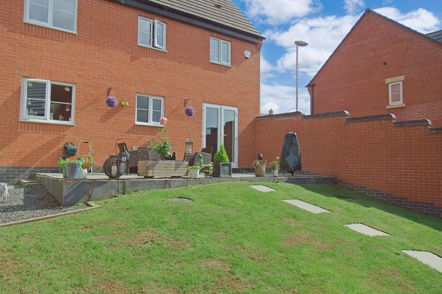 Thumbnail Detached house for sale in Saxon Drive, Rothley, Leicester