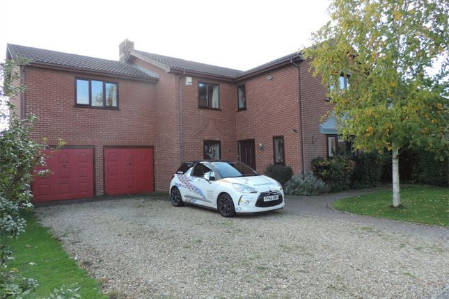 Thumbnail Detached house to rent in Hazelwood Drive, Bourne, Lincolnshire