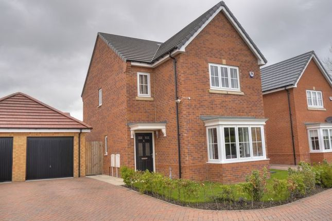 Thumbnail Detached house for sale in St. Nicholas Drive, Bedlington