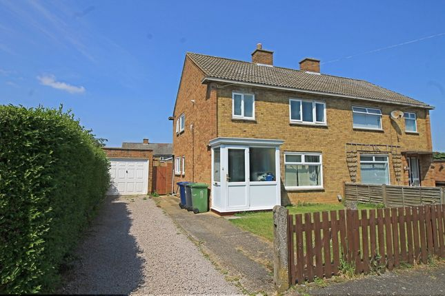 Thumbnail Semi-detached house for sale in Kisby Avenue, Godmanchester