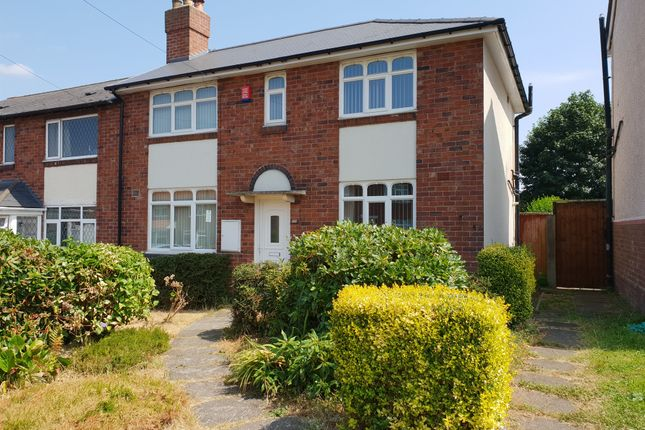 Thumbnail Semi-detached house for sale in Bristnall Hall Road, Oldbury