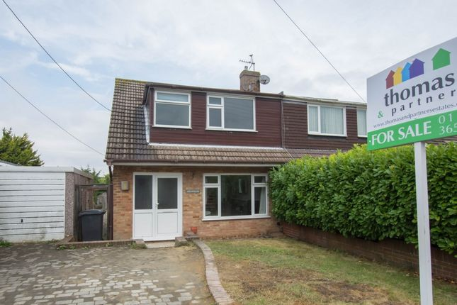 Thumbnail Semi-detached house for sale in Hardy Road, St Margarets At Cliffe