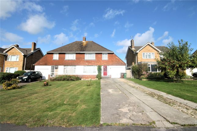 Thumbnail Semi-detached house to rent in Noredown Way, Royal Wootton Bassett, Swindon, Swindon, Wiltshire