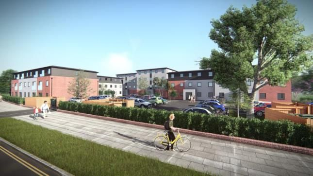 Thumbnail Flat for sale in Burnthouse Lane, Exeter