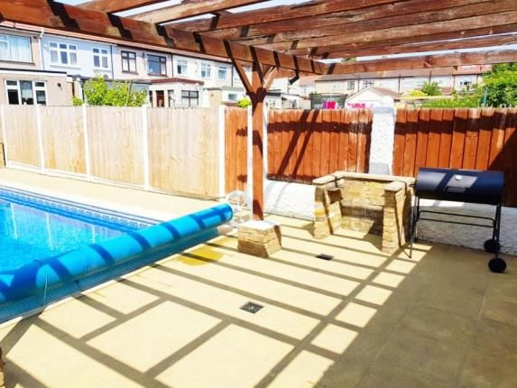 Pool Bbq Area of Mawneys, Romford, Havering RM7