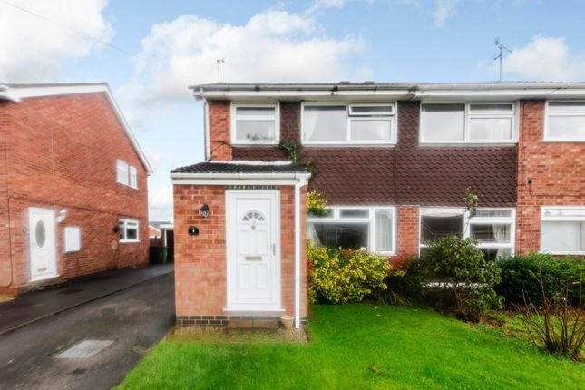 Thumbnail Semi-detached house for sale in Montreal Close, Worcester, Worcestershire