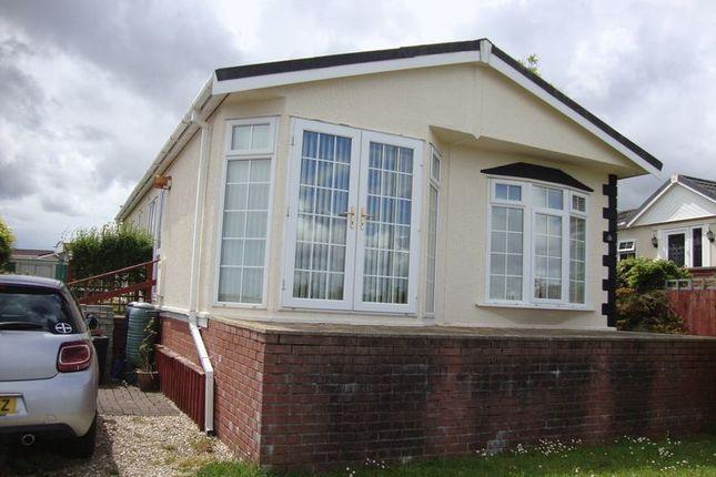 Thumbnail Mobile/park home for sale in Resugga Green Residential Homes Park, Resugga Green, St. Austell