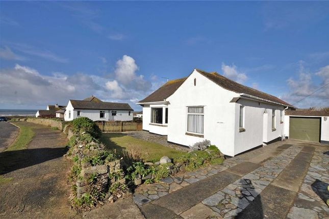 Thumbnail Detached bungalow for sale in The Crescent, Widemouth Bay, Bude, Cornwall