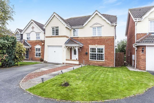 Thumbnail Detached house for sale in Pease Court, Eaglescliffe, Stockton-On-Tees