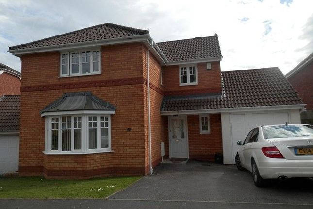 Thumbnail Detached house to rent in Cyril Evans Way, The Alders, Morriston, Swansea.