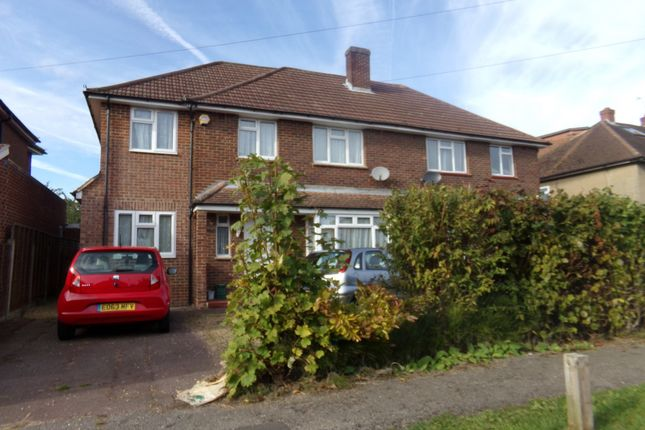 Thumbnail Property to rent in The Crescent, Egham, Surrey