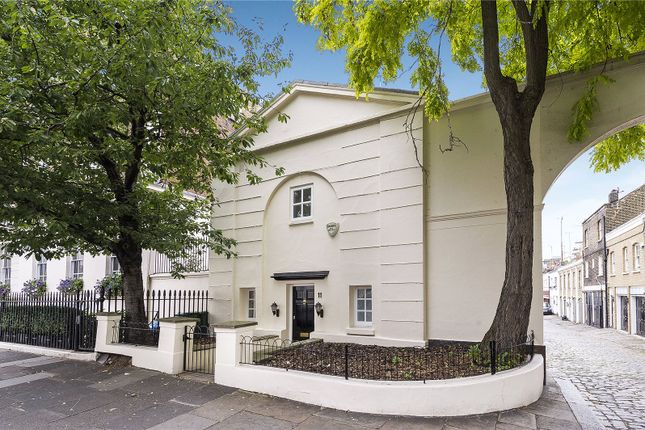 Thumbnail End terrace house to rent in Belgrave Place, Belgravia, London