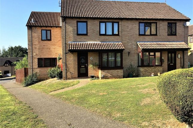 Thumbnail Semi-detached house for sale in Sentinel Road, West Hunsbury, Northampton