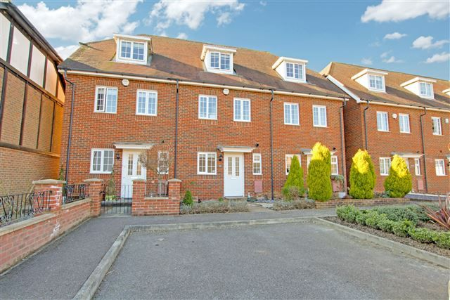 Thumbnail Town house for sale in The Squires, Pease Pottage, Crawley