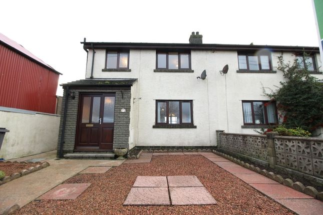 Thumbnail Semi-detached house for sale in Abbeytown, Wigton