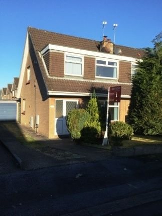 Thumbnail Semi-detached house to rent in Katrine Park, Finaghy, Belfast