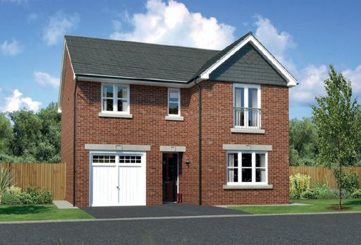 """Thumbnail Detached house for sale in """"Glenmore"""" At Arrowe Park Road, Upton, Wirral CH49, Upton, Wirral,"""