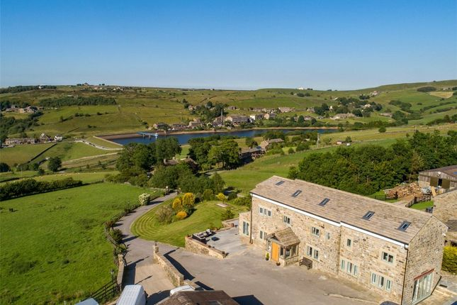 Thumbnail Detached house for sale in Upper Isle Farm, Leeming, Oxenhope, Keighley