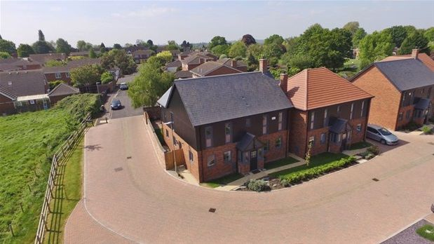 Thumbnail Detached house for sale in 1 Newark Court, Ladywell Close, Gloucester