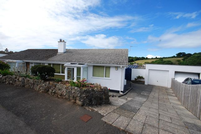 Thumbnail Semi-detached bungalow for sale in Reens Crescent, Heamoor, Penzance