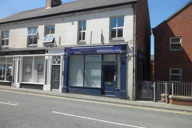 Thumbnail Retail premises to let in Mill Street, Crewe