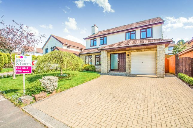 Thumbnail Detached house for sale in Blossom Drive, Lisvane, Cardiff