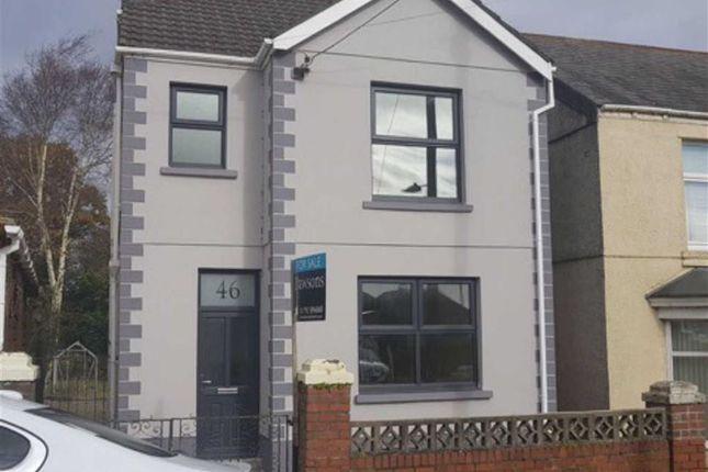 Thumbnail Detached house for sale in Brynteg Road, Swansea