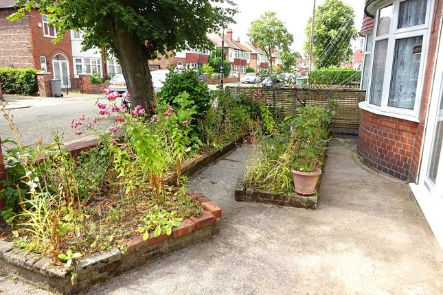 Front Garden of Ruskin Road, Old Trafford, Manchester, Greater Manchester. M16