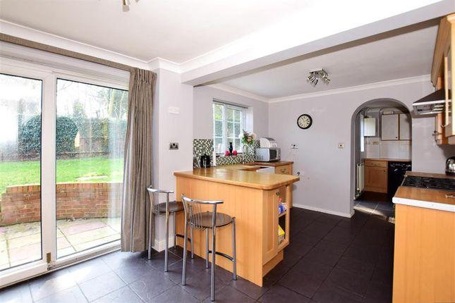 Kitchen Area of Old Barn Road, Leybourne, West Malling, Kent ME19