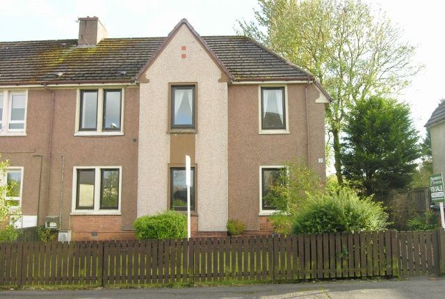 Thumbnail Flat for sale in Wilson Road, Allanton Shotts