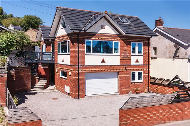 Thumbnail Detached house for sale in Main Road, Llantwit Fadre, Pontypridd