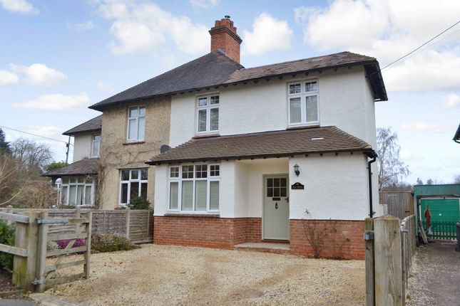 Thumbnail Semi-detached house for sale in White City, Woolton Hill, Newbury