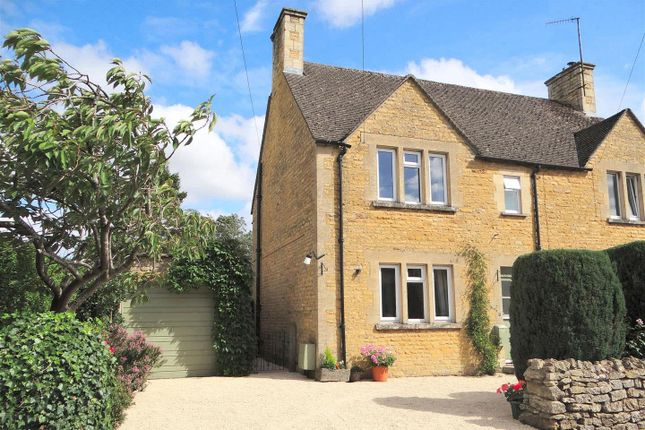 Thumbnail Semi-detached house to rent in Foxes Close, Station Road, Bourton-On-The-Water, Cheltenham