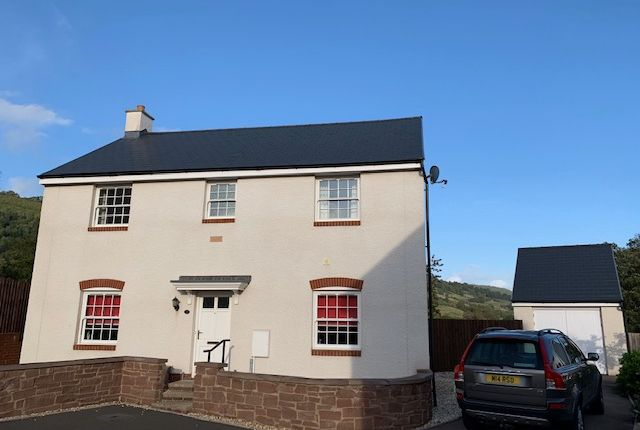Thumbnail Detached house for sale in Crawshay Bailey Close, Gilwern, Abergavenny, Gwent