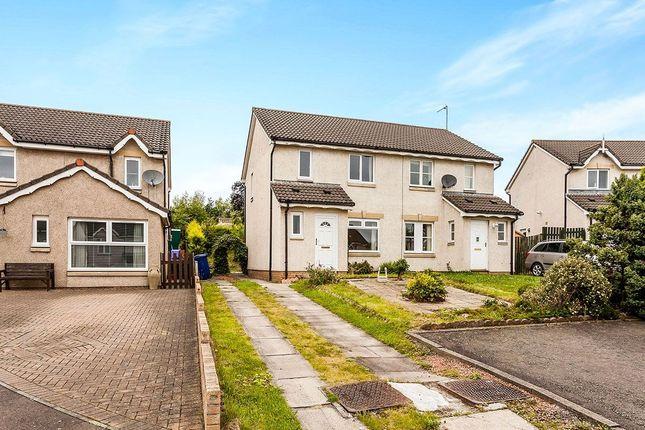 Thumbnail Semi-detached house for sale in Newbyres Gardens, Gorebridge