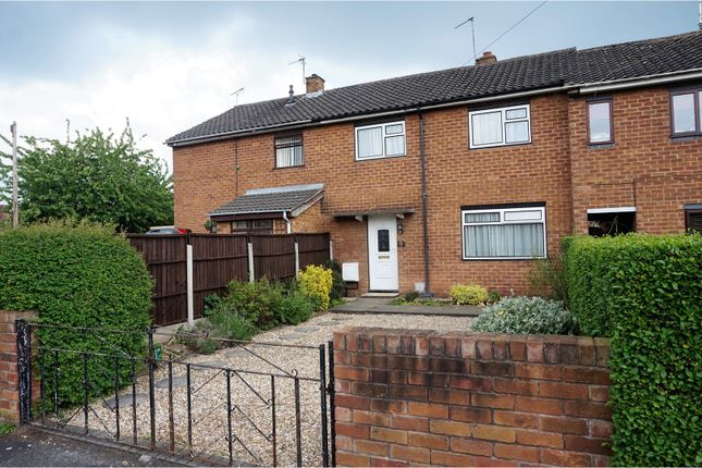 Thumbnail Terraced house for sale in Ballater Crescent, Chester