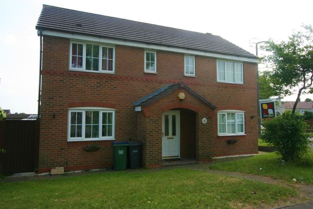 Thumbnail Detached house to rent in Orchard Road, Walsall