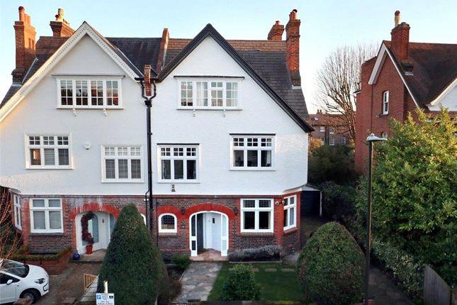 Thumbnail Semi-detached house for sale in Lancaster Road, Wimbledon Village