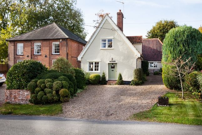 Thumbnail Detached house to rent in Hundon, Sudbury, Suffolk