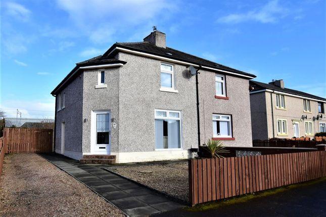 Thumbnail Semi-detached house for sale in Garfield Avenue, Mossend, Bellshill